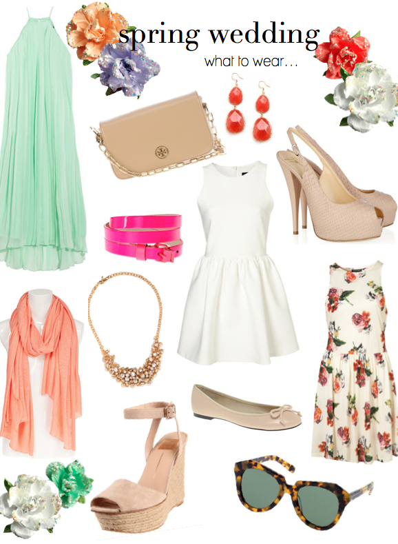 spring wedding what to wear